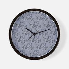 Pale Blue Vintage Wall Clock