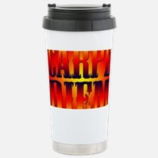 Carpe Diem Stainless Steel Travel Mug