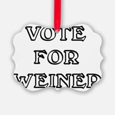 Vote for Weiner Ornament