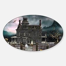 hh1_s_cutting_board_820_H_F Sticker (Oval)