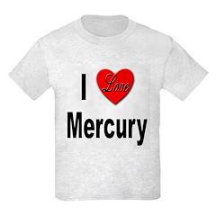 I Love Mercury T-Shirt