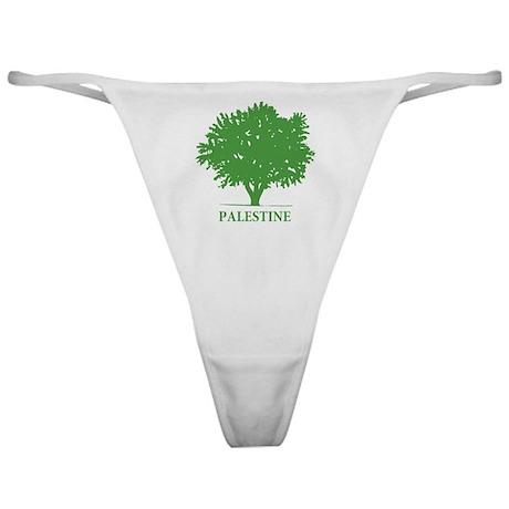 Palestine olive tree Classic Thong