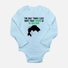 Fishing Brother Body Suit