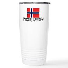 I HEART NORWAY FLAG Travel Mug