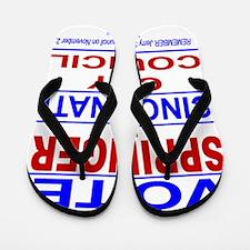 Vote Springer for Cincinnati Flip Flops