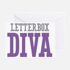 Letterbox DIVA Greeting Card