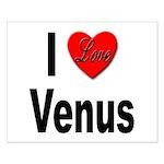 I Love Venus Small Poster