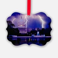 LET THE THUNDER ROLL Ornament