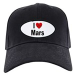 I Love Mars Black Cap