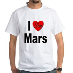 I Love Mars (Front) Shirt