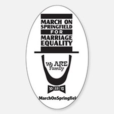 March on Springfield for Marriage E Decal