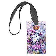 Cattleya, Lady Slipper Orchids 3 Luggage Tag