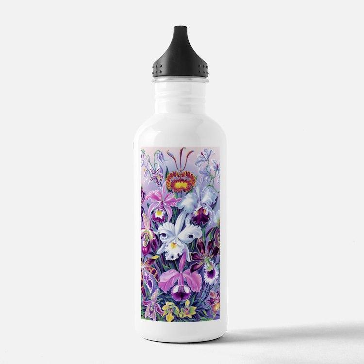 Cattleya, Lady Slipper Water Bottle