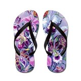 Orchid Flip Flops