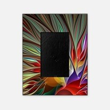Fractal Bird of Paradise for All Ove Picture Frame