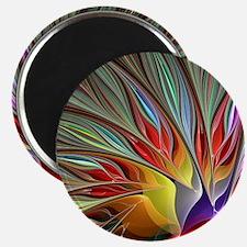 Fractal Bird of Paradise for All Over Shirt Magnet