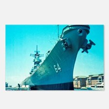 USS Wisconsin Postcards (Package of 8)