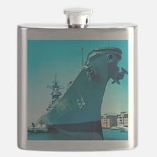 USS Wisconsin Flask