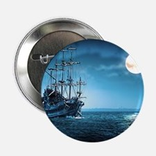 "Pirate Ship 2.25"" Button"