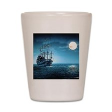 Pirate Ship Shot Glass
