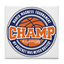 MarchMadnessChamp Tile Coaster