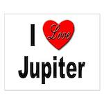 I Love Jupiter Small Poster