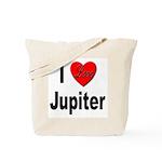I Love Jupiter Tote Bag