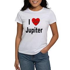 I Love Jupiter (Front) Tee