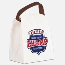 Concrete Football Champion Canvas Lunch Bag