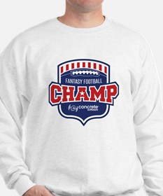 Concrete Football Champion Sweatshirt