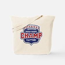 Concrete Football Champion Tote Bag