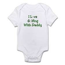 Golfing With Daddy Infant Bodysuit