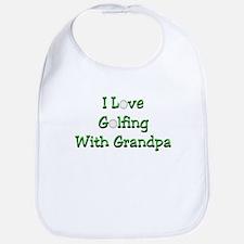 Golfing With Grandpa Bib