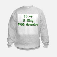 Golfing With Grandpa Sweatshirt
