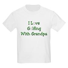Golfing With Grandpa T-Shirt