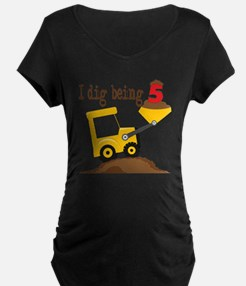 I Dig Being 5 T-Shirt