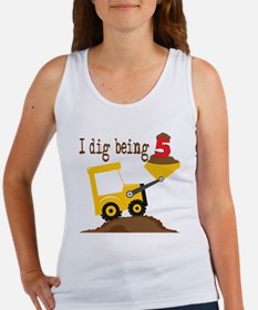 I Dig Being 5 Women's Tank Top