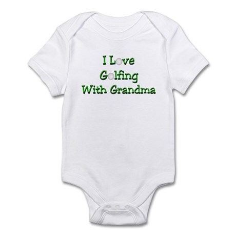 Golfing With Grandma Infant Bodysuit