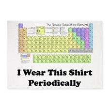 I Wear this Shirt Periodically 5'x7'Area Rug