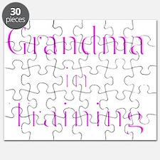 Grandma in Training-White Puzzle