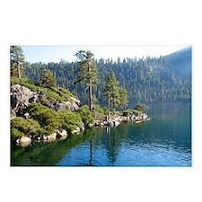 Emerald Bay-Lake Tahoe Postcards (Package of 8)
