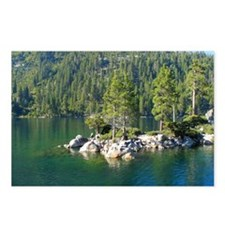 Emerald Bay-Lake Tahoe-Sc Postcards (Package of 8)