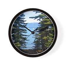 Tallac-Lake Tahoe Wall Clock