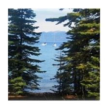 Tallac-Lake Tahoe Tile Coaster