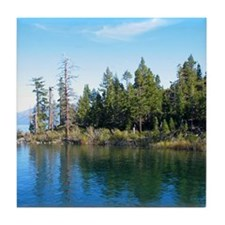 Eagle Point-Emerald Bay,Lake Tahoe Tile Coaster