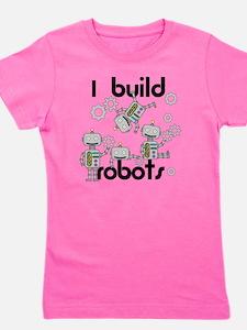 I Build Robots Girl's Tee