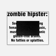 ZOMBIE HIPSTER Picture Frame