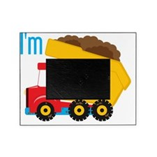 Dump Truck Im 3 Picture Frame