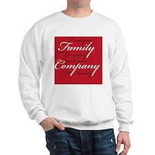 Treat Family as Company Sweatshirt