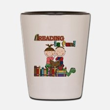 Reading is Fun Shot Glass